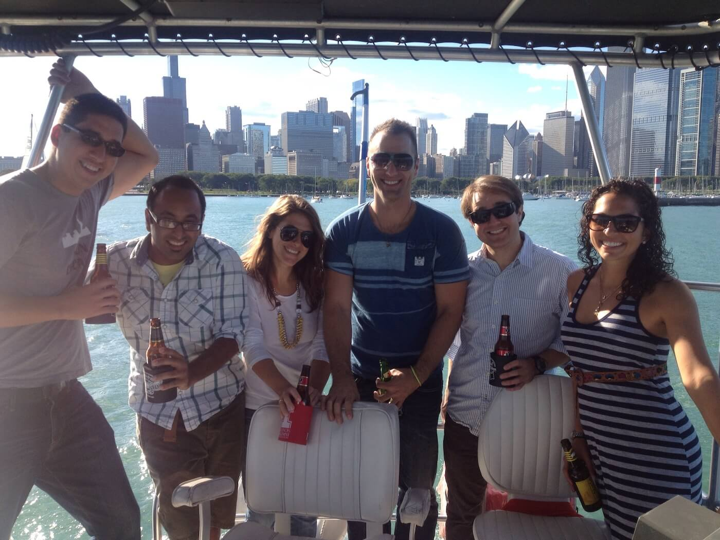 Chicago Boat Tour Photo Gallery – Knock Out Charters-7
