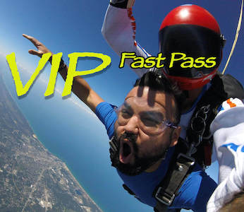 VIP Tandem Skydive